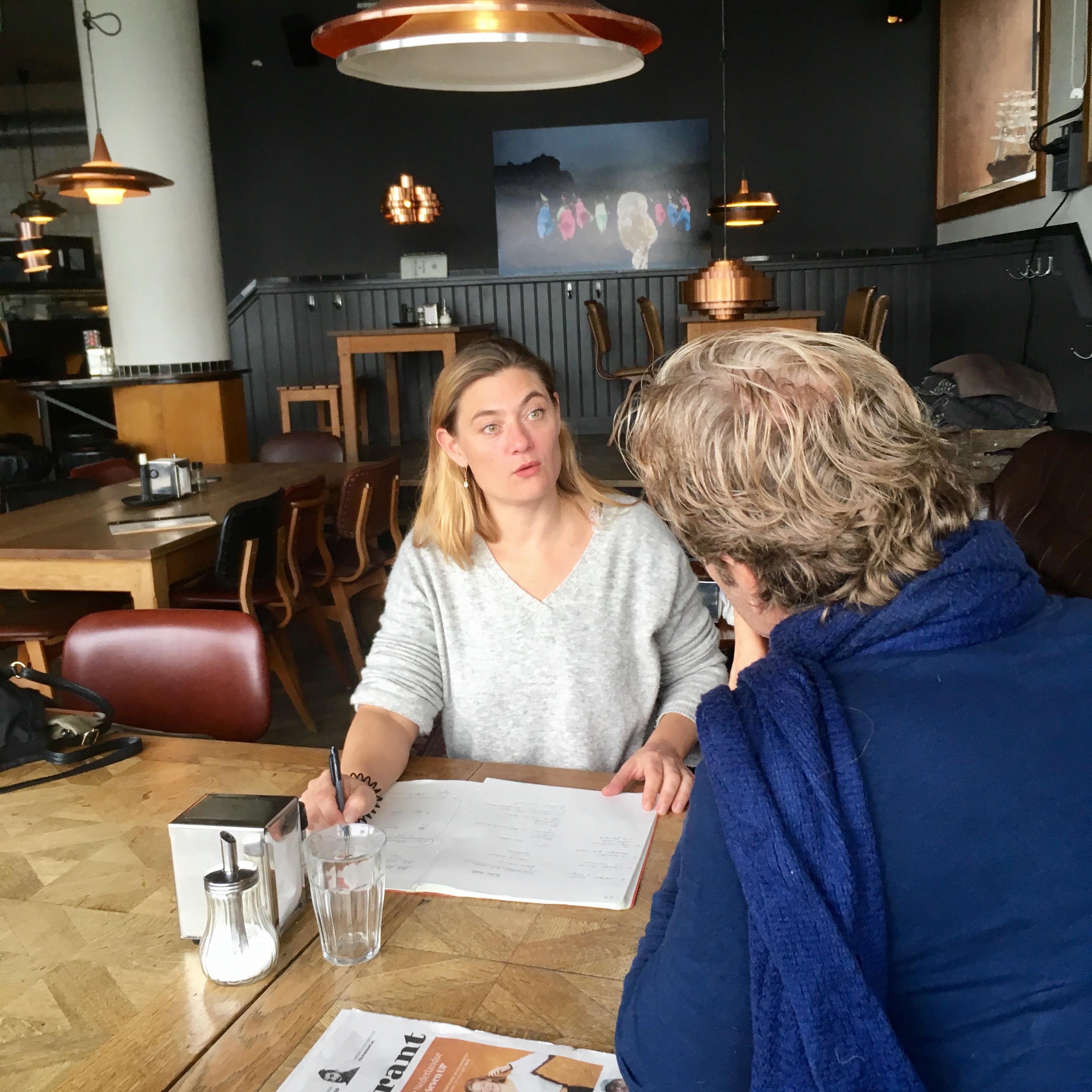 Coaching sessie Hanneke Scholten